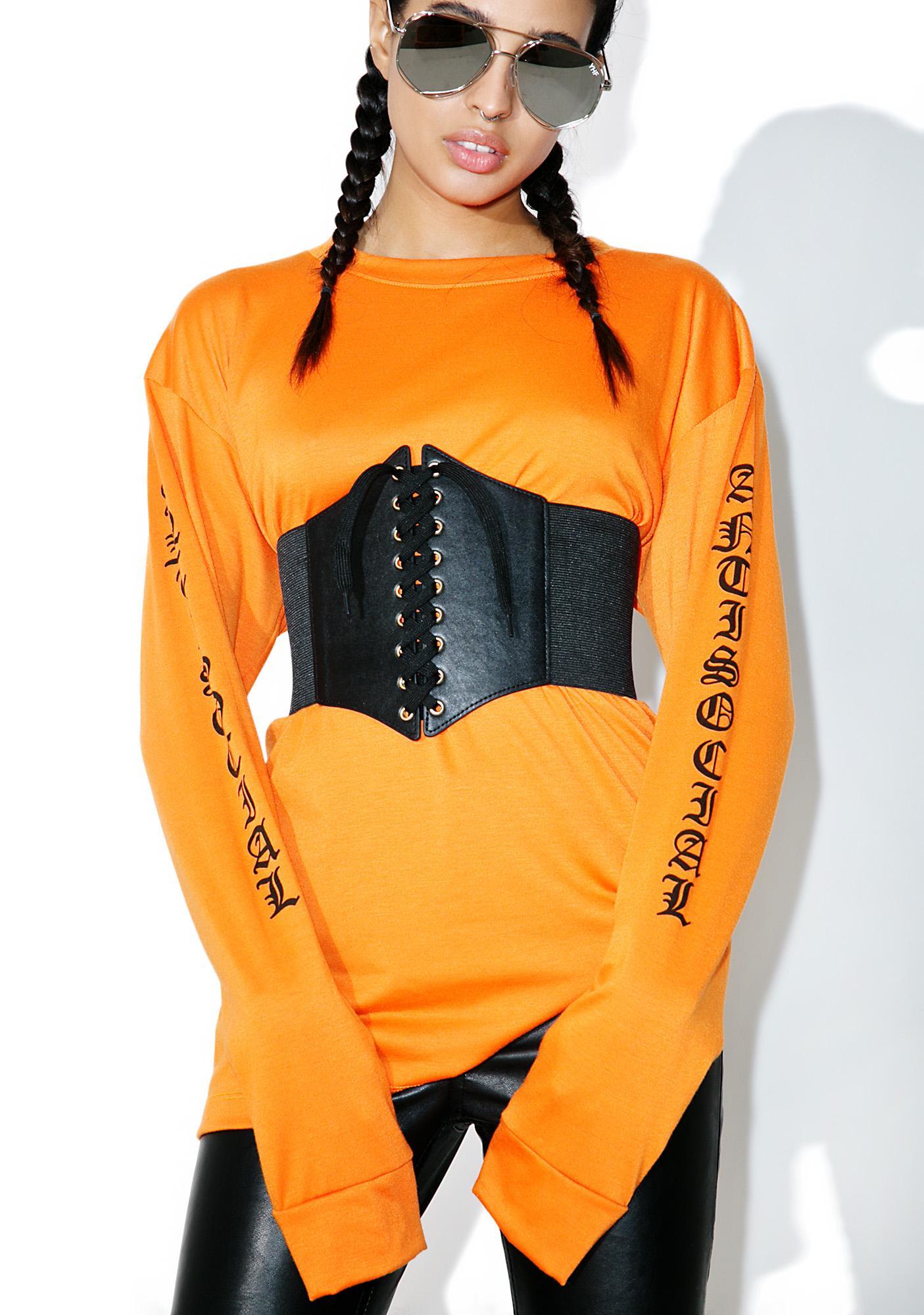 Stinger Lace-Up Waist Belt