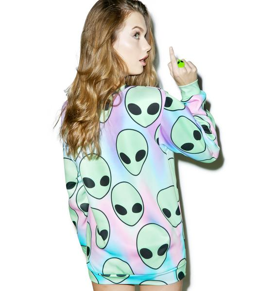 Sugarpills Space Sherbert Sweatshirt