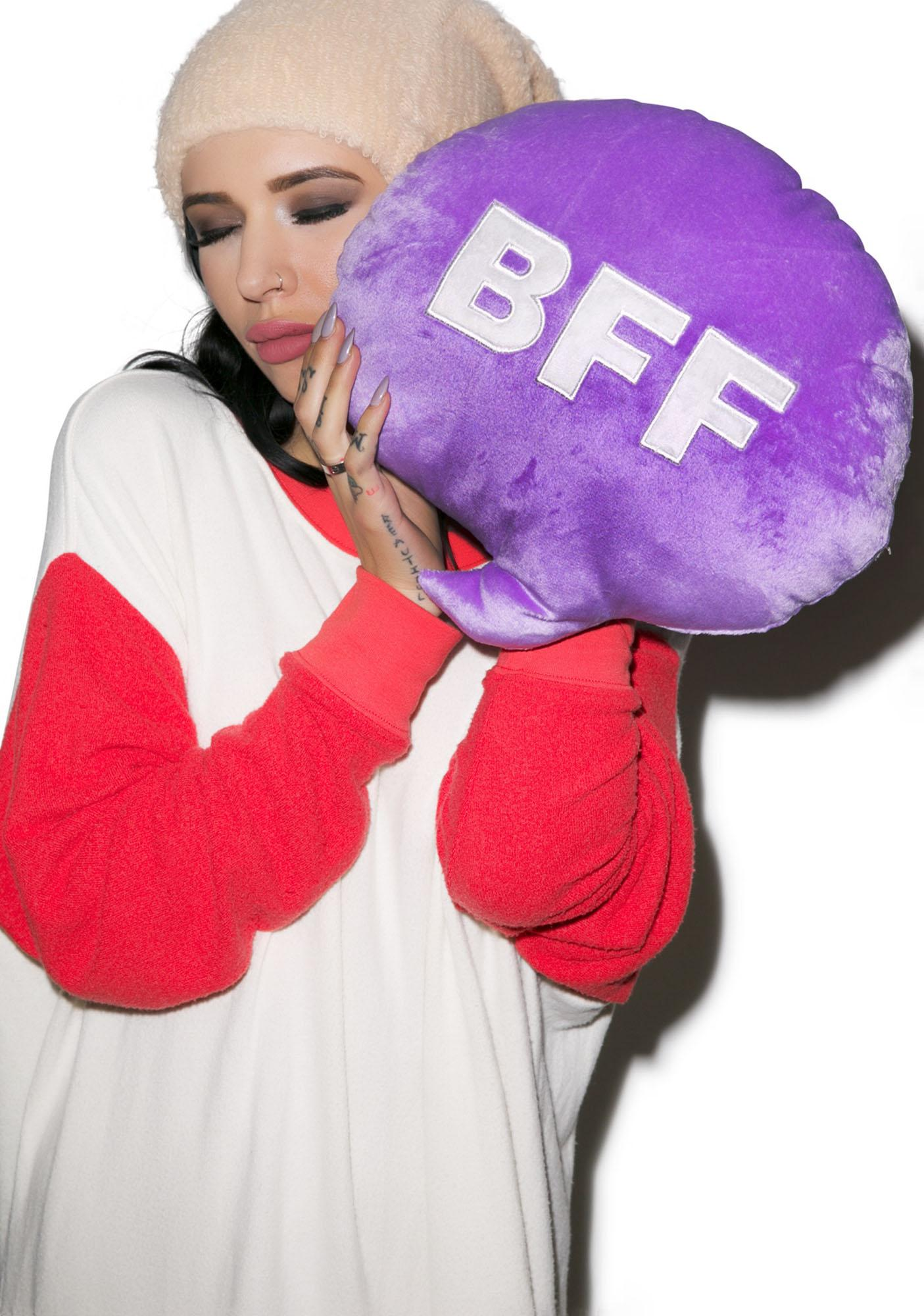 BFF Chat Pillow