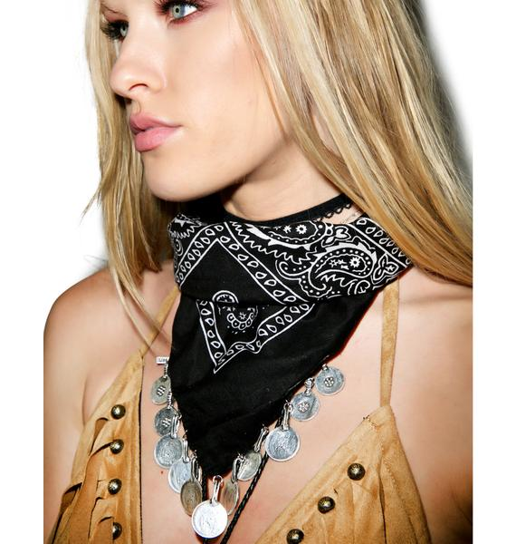 Vanessa Mooney The Harper Coin Bandana