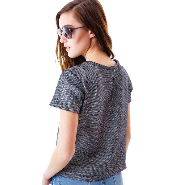 Odyssey Short Sleeve Sweater