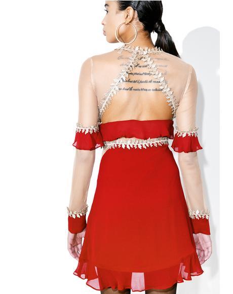 Lille Ruffled Dress