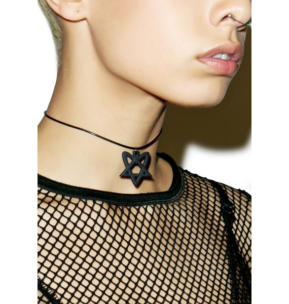 The Rogue + The Wolf Glyph Of Lust Choker