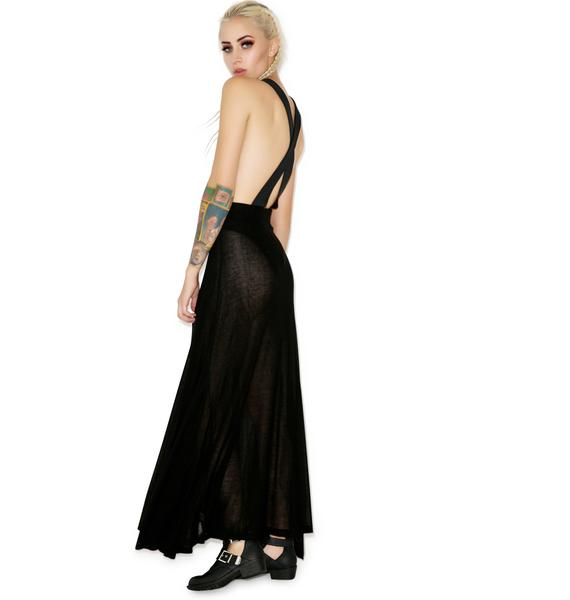 Wildfox Couture Scripted Wildfox Groupie Skirt