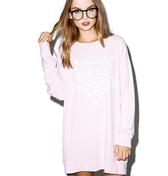 Wildfox Couture Listen To Me Roadtrip Sweater
