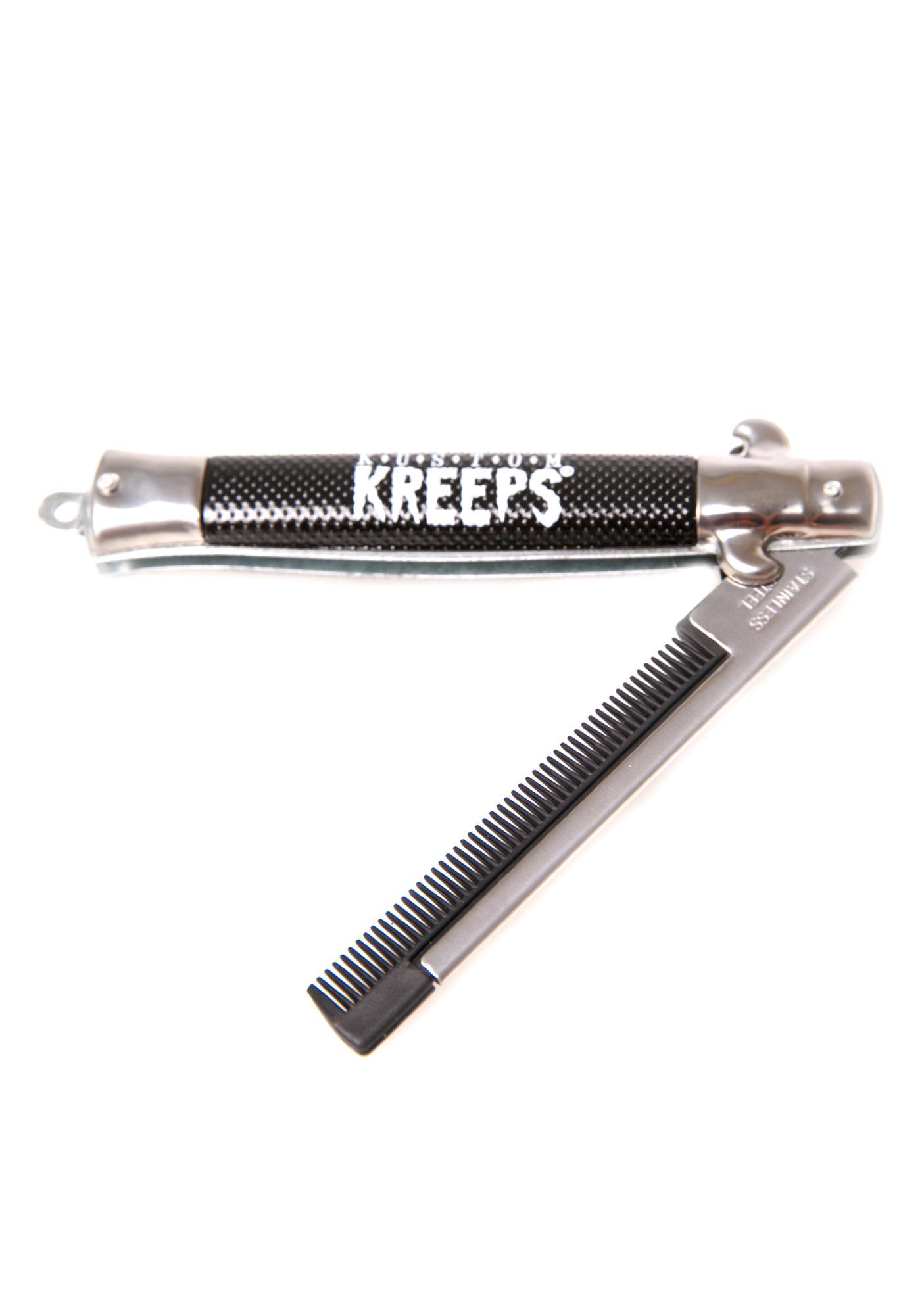 Sourpuss Clothing Kustom Kreeps Switchblade Comb