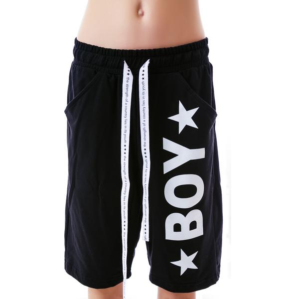 BOY London BOY Star Lounge Shorts