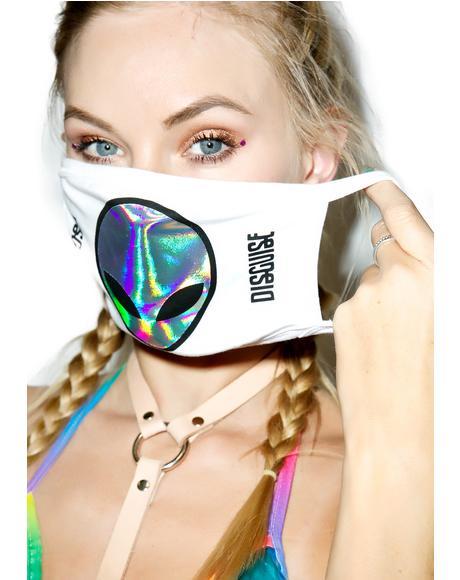 X Disguise Alien Face Mask