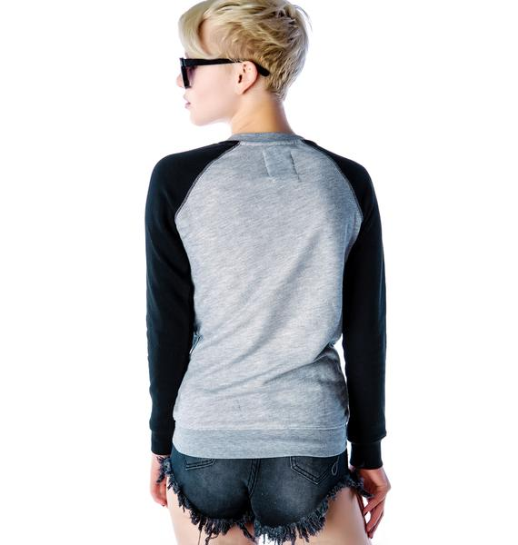 Zoe Karssen Army of Lovers Raglan Sweater