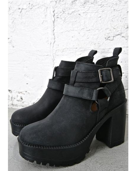 Packer Buckled Booties