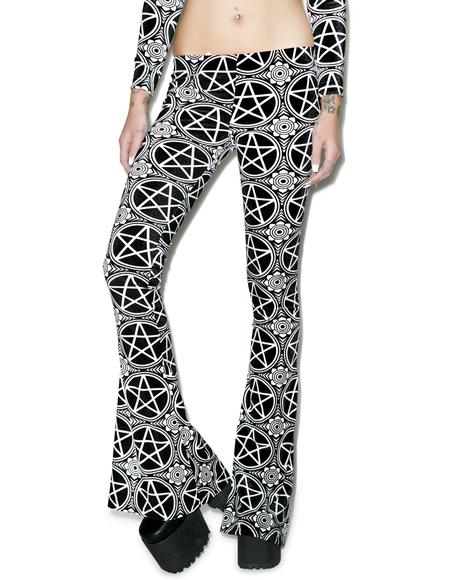 Pentagram Bell Bottoms