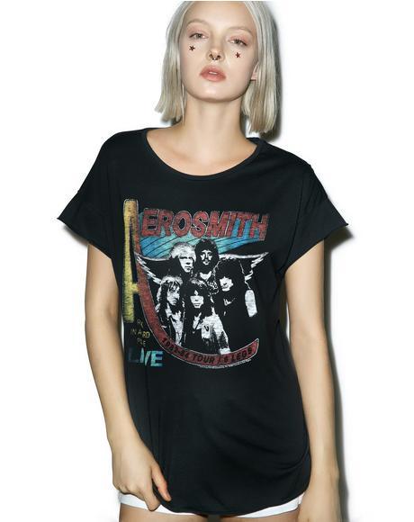 Aerosmith Live Concert Tee