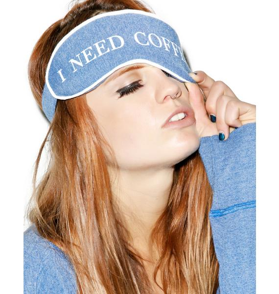Wildfox Couture I Need Coffee Eyemask
