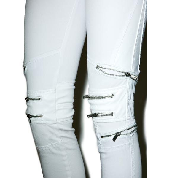 Tripp NYC Knee Zipper Jeans