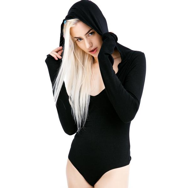 Olympia Theodora Hooded Bodysuit