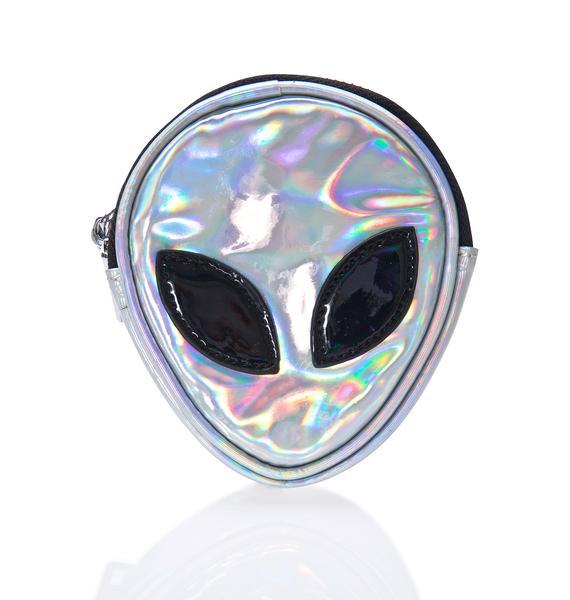 Disturbia Alien Coin Purse