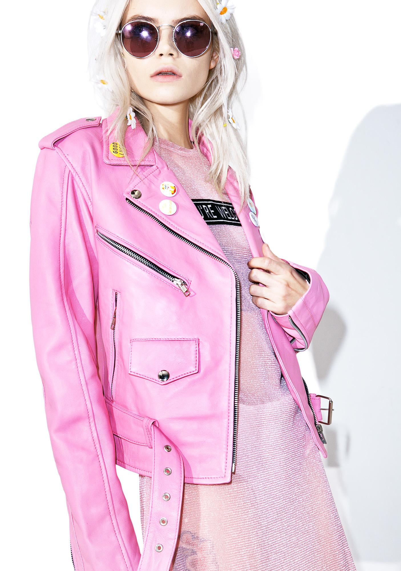 The Ragged Priest Memo Biker Jacket