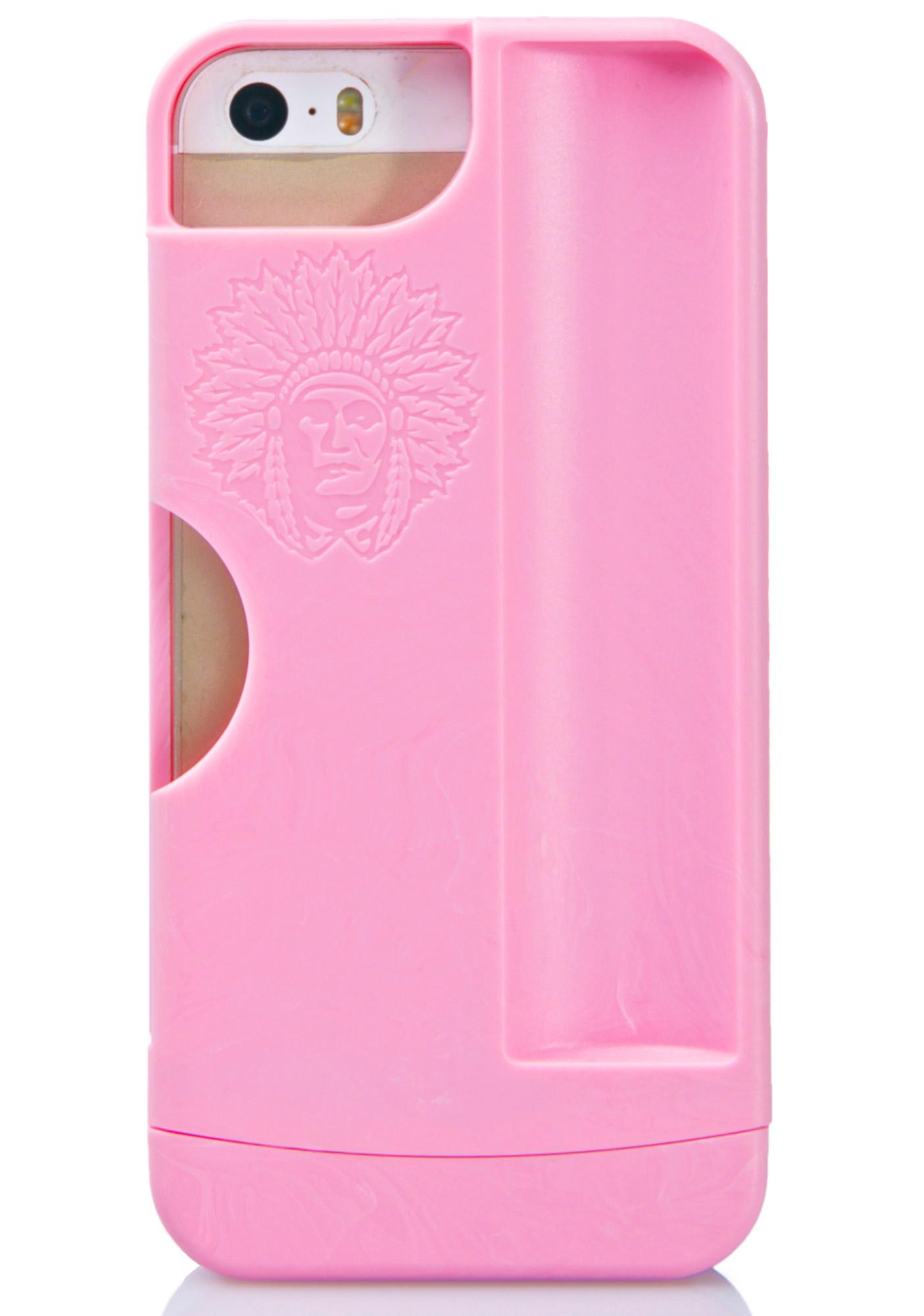 iChief Pink Rolling Tray iPhone 5/5S Case