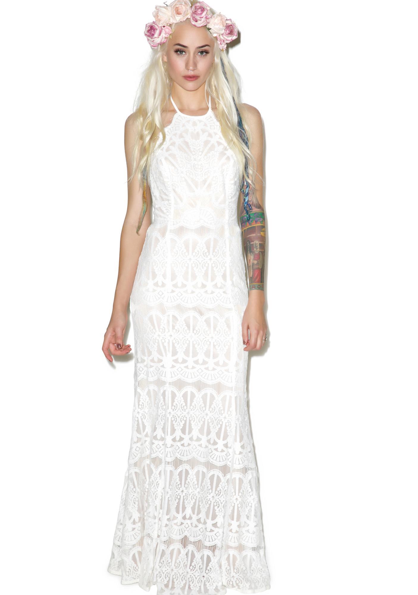 Glamorous Swan Lake Maxi Dress