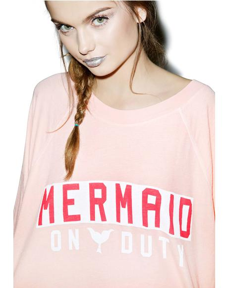 Mermaid On Duty Kim's Sweater