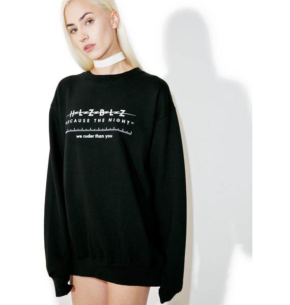 HLZBLZ The Night Sweatshirt
