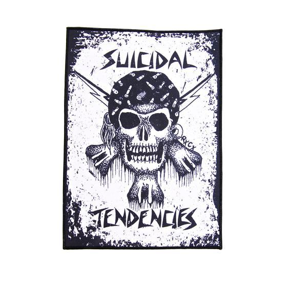 Suicidal Tendencies RxCx Skull Back Patch