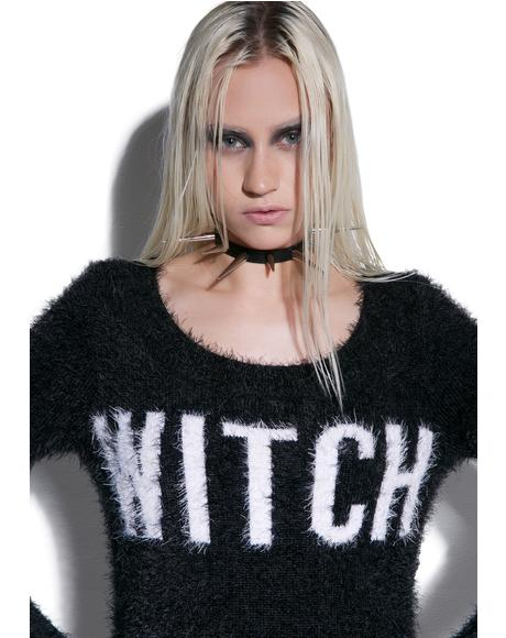 Witch Dropout Sweater