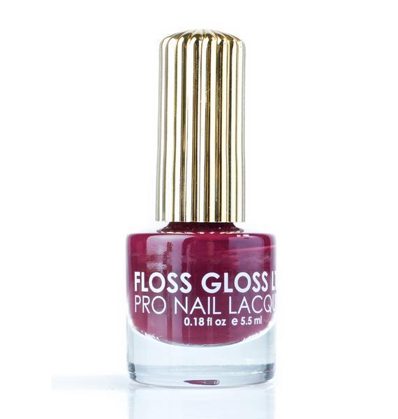 Floss Gloss Smoke On The Nail Polish