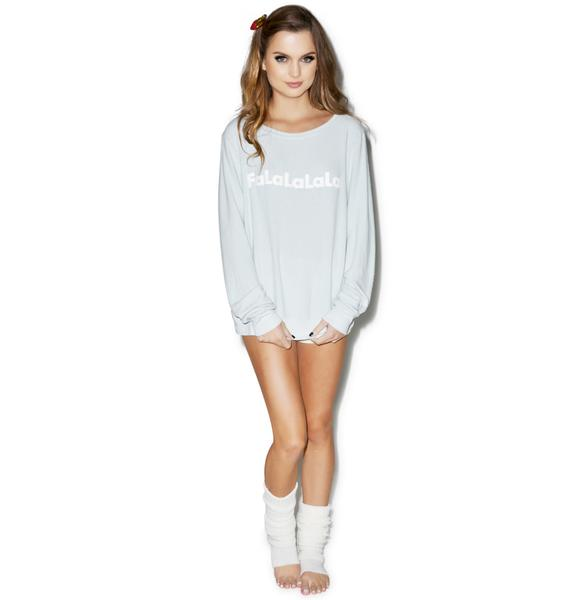 Wildfox Couture FaLaLa Baggy Beach Jumper