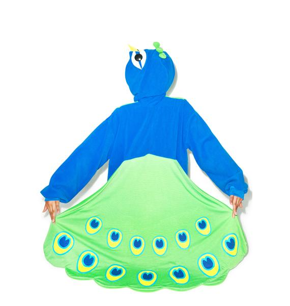 Sazac Peacock Kigurumi