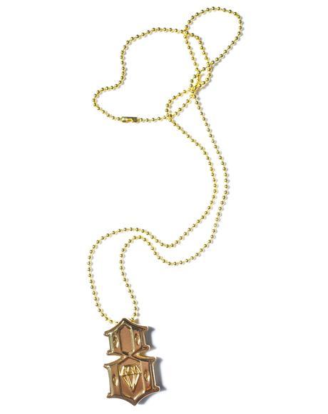 Metal 8 Necklace