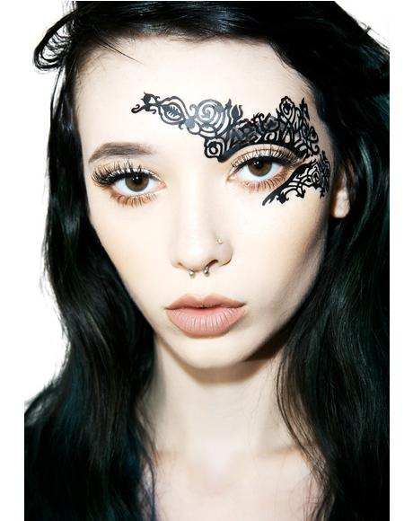 Rusque Half Face Face Lace