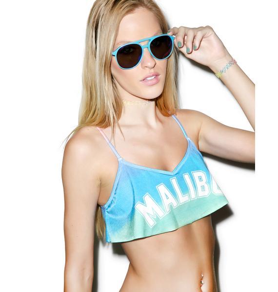 Wildfox Couture Malibu Sunscreen Tankini Top