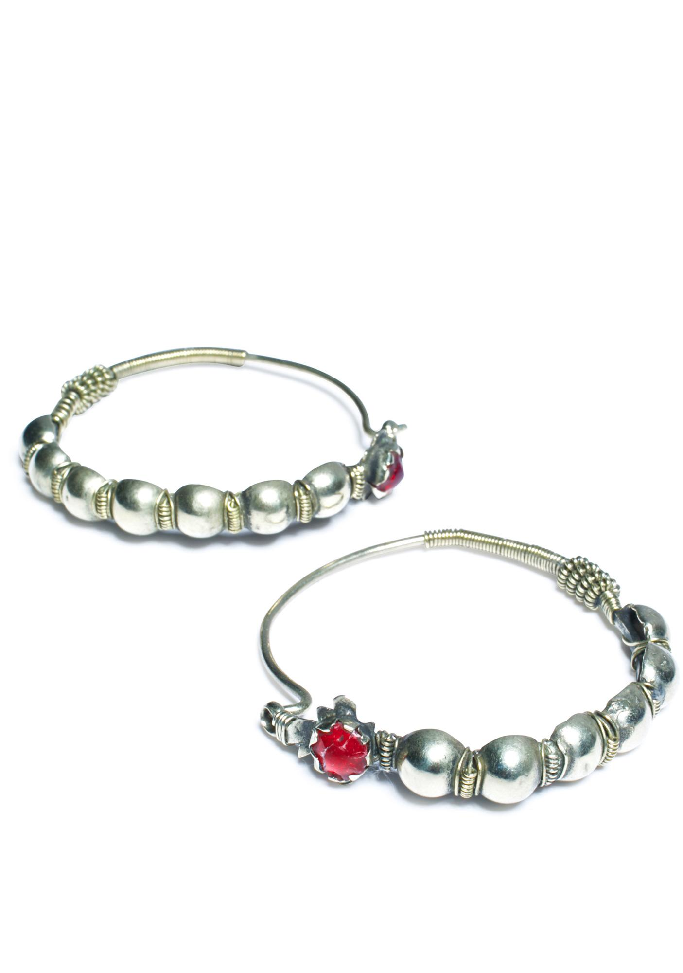 Sorceress Hoop Earrings
