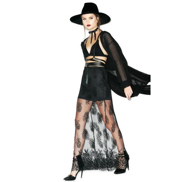 Desperado Lace Maxi Skirt