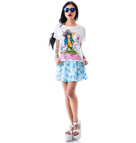 Valfré Mermaid Girl Valfré Crew Tee