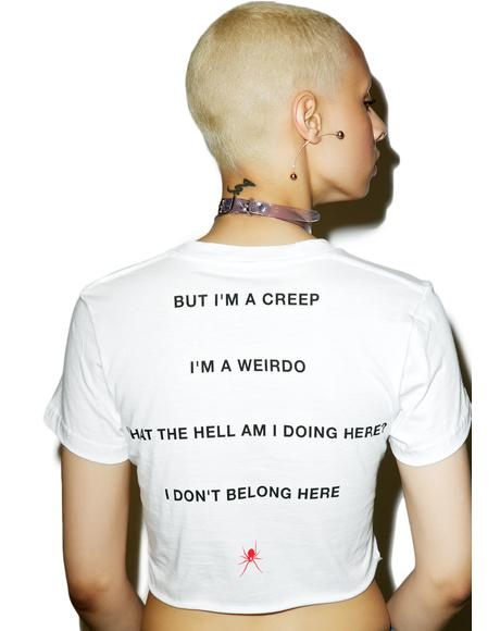 I'm A Creep Crop Tee