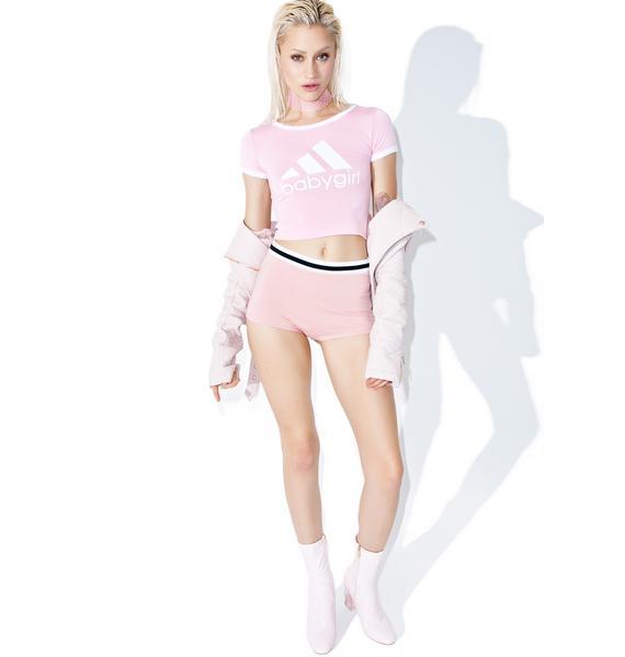 O Mighty Pinky OG Babygirl Ringer Tee