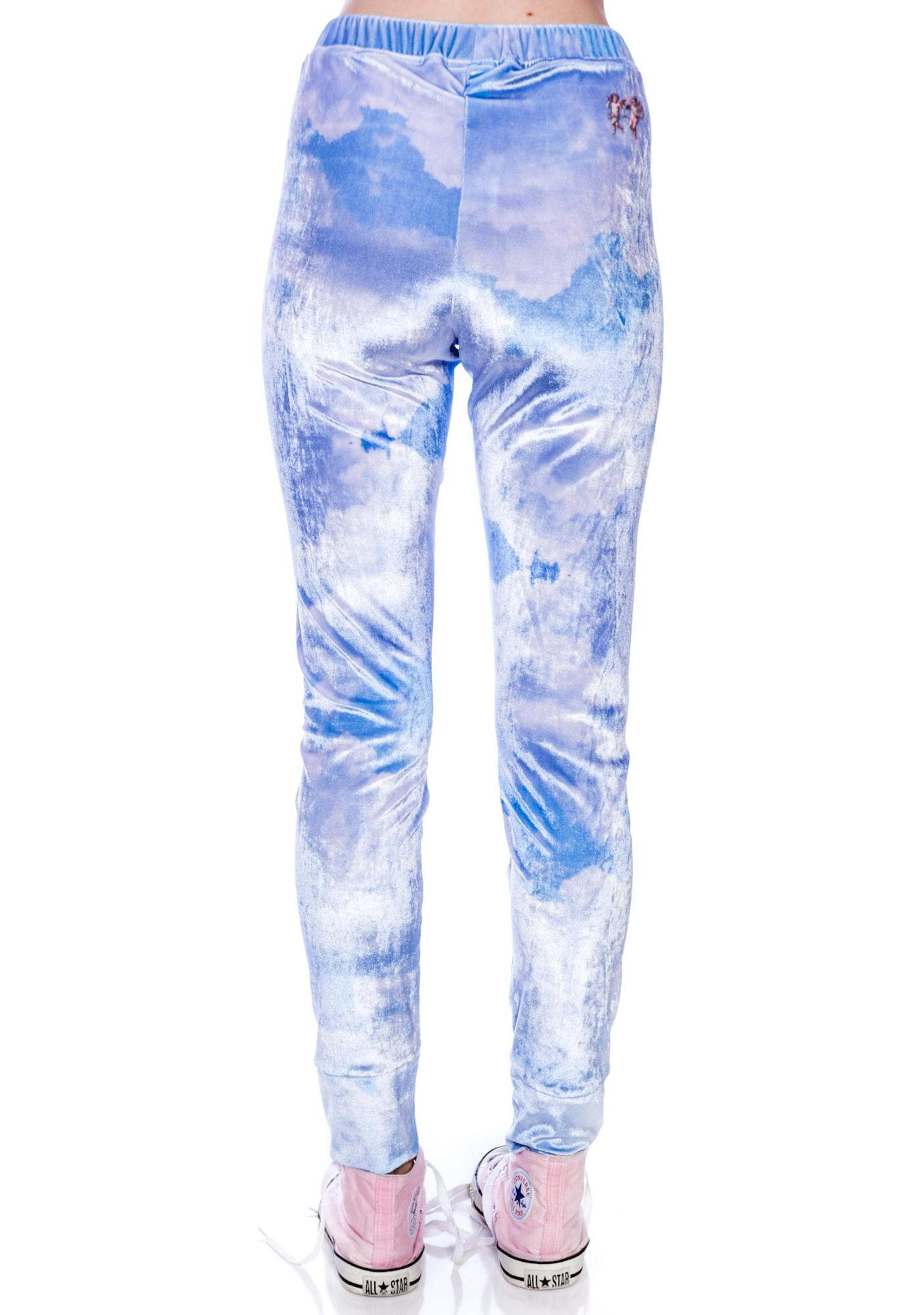 Wildfox Couture Cupid Cloudy Sky Leggings