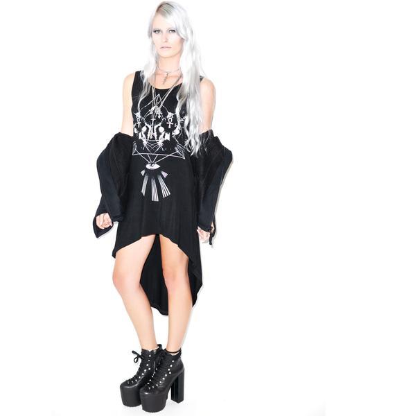 Majikal Pussy Hi-Low Dress