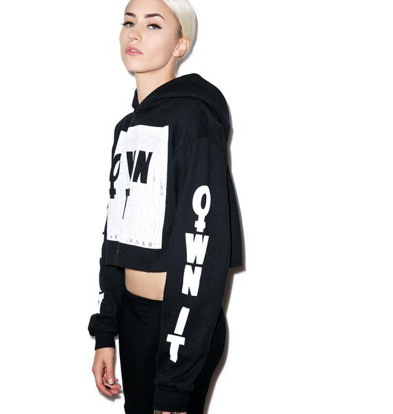 Civil Clothing Own It Crop Pullover