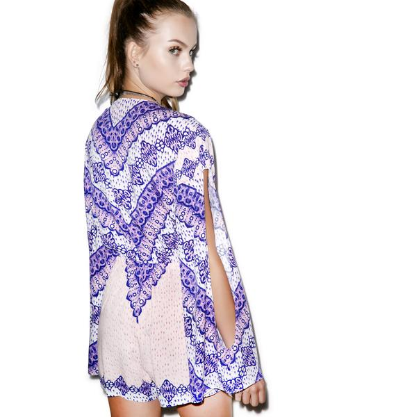 Somedays Lovin Outsiders Print Romper