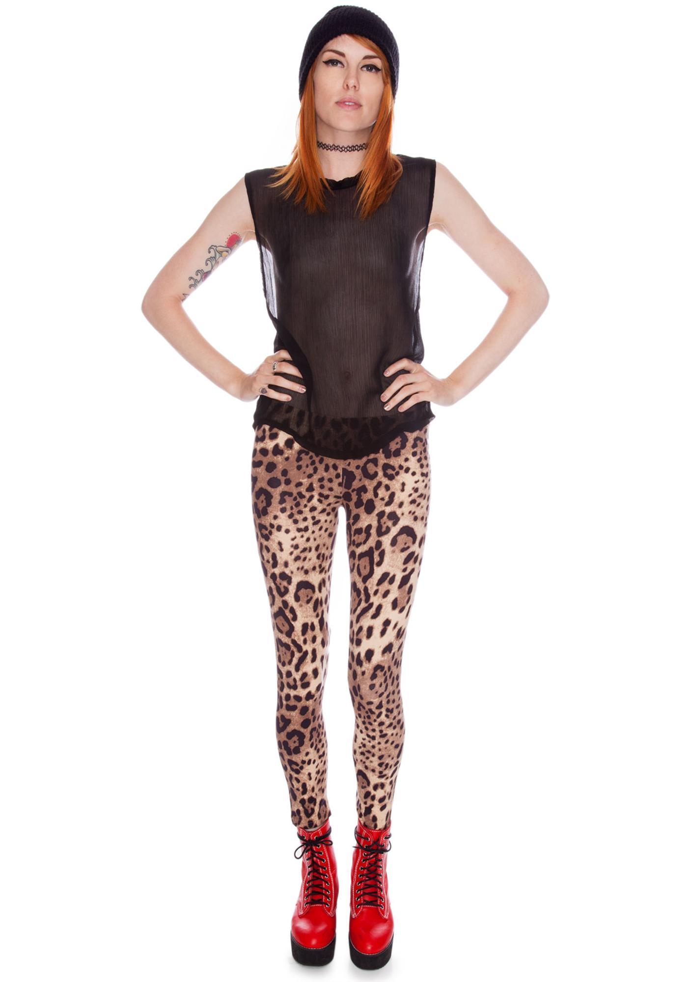 Joyrich Leopard Spot Leggings