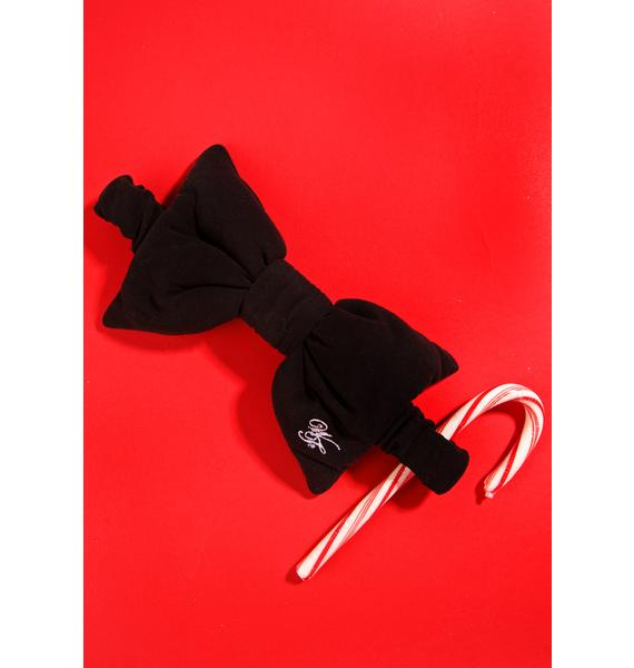 Wildfox Couture WF Logo Bow Eyemask