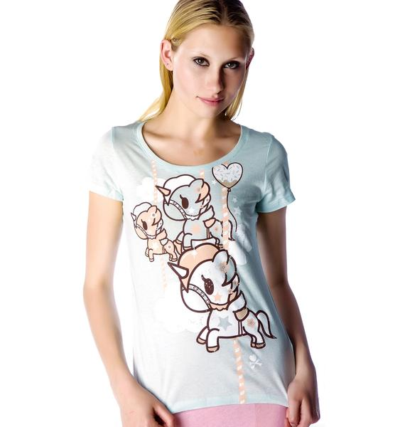 Tokidoki Here We Go Around Tee