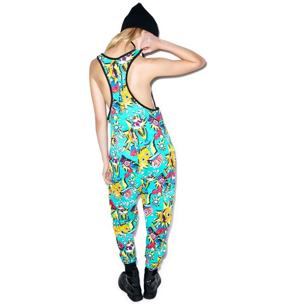 Iron Fist Cycloburger Romper