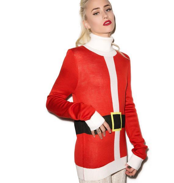 Tipsy Elves Santa Sweater