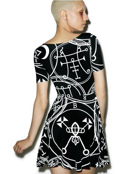 Sigil Skater Dress