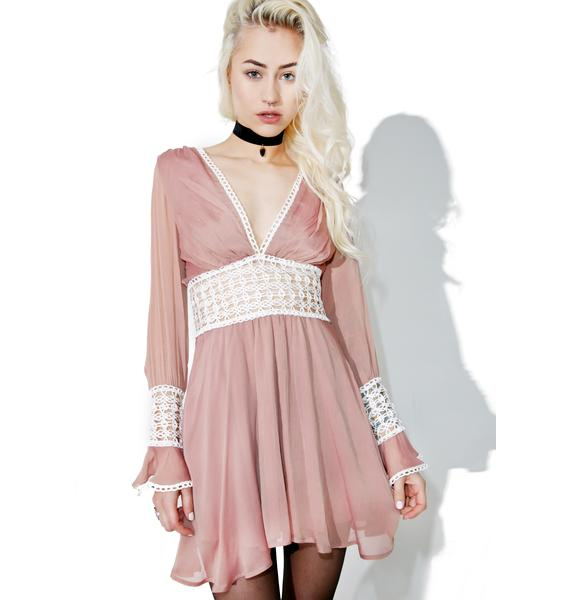 For Love & Lemons Celine Mini Dress