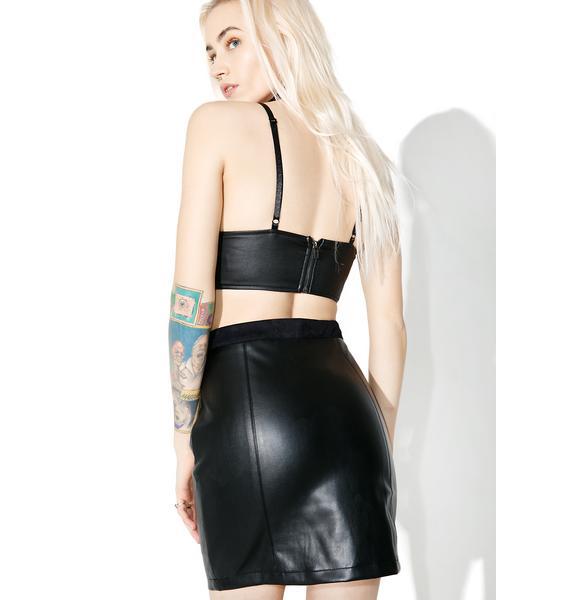 WYLDR Biker Skirt